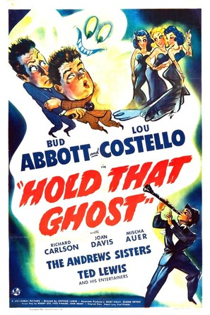 Hold That Ghost - Movie Poster (thumbnail)