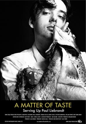 A Matter of Taste: Serving Up Paul Liebrandt - Movie Poster (thumbnail)