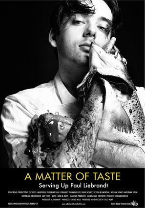 A Matter of Taste: Serving Up Paul Liebrandt - Movie Poster (thumbnail)