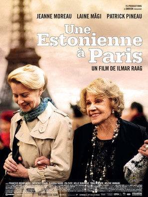 Une Estonienne à Paris - French Movie Poster (thumbnail)