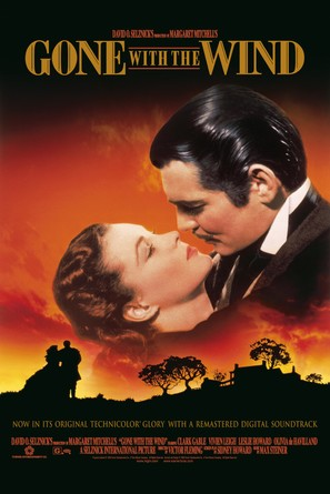Gone with the Wind - Re-release movie poster (thumbnail)