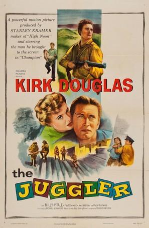 The Juggler - Movie Poster (thumbnail)
