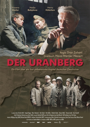 Der Uranberg - German Movie Poster (thumbnail)
