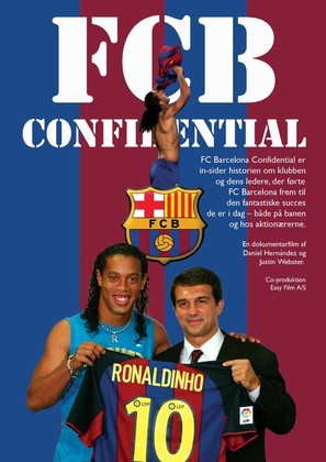 FC Barcelona Confidential - Danish poster (thumbnail)