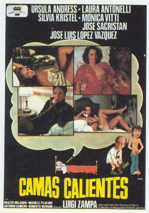 Letti selvaggi - Spanish Movie Poster (thumbnail)