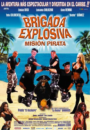 Brigada explosiva: Misión pirata - Uruguayan poster (thumbnail)