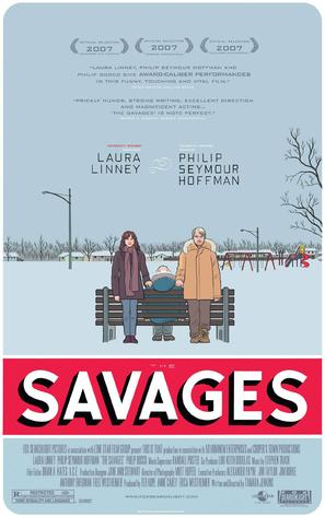 The Savages - Movie Poster (thumbnail)