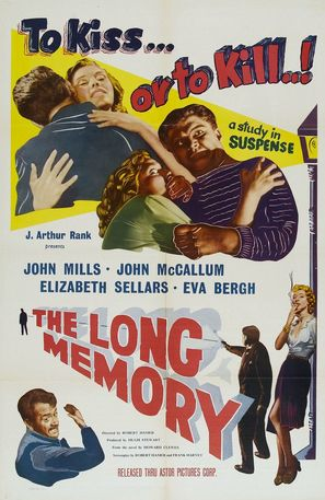 The Long Memory - Movie Poster (thumbnail)