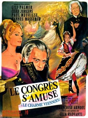Der Kongreß amüsiert sich - French Movie Poster (thumbnail)
