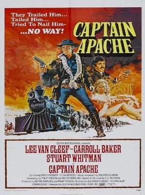 Captain Apache - Movie Poster (thumbnail)