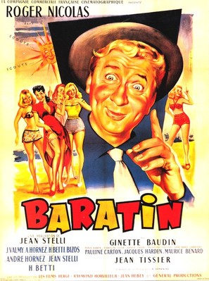 Baratin - French Movie Poster (thumbnail)