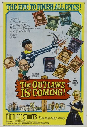 The Outlaws Is Coming - Movie Poster (thumbnail)