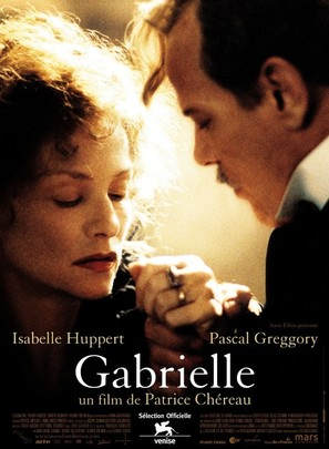 Gabrielle - French Movie Poster (thumbnail)