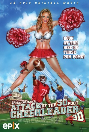 Attack of the 50ft Cheerleader - Movie Poster (thumbnail)