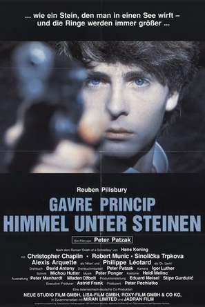 Gavre Princip - Himmel unter Steinen - German Movie Poster (thumbnail)