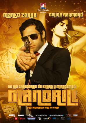 Mandrill - Chilean Movie Poster (thumbnail)