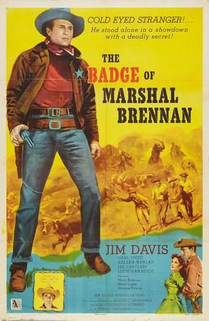 The Badge of Marshal Brennan - Movie Poster (thumbnail)