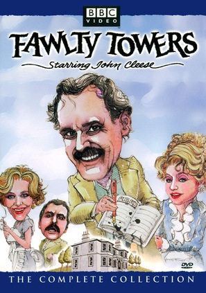 """Fawlty Towers"" - DVD movie cover (thumbnail)"