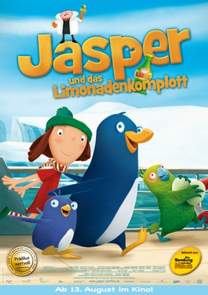 Jasper: Journey to the End of the World - German Movie Poster (thumbnail)