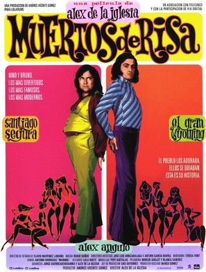 Muertos de risa - Spanish Movie Poster (thumbnail)