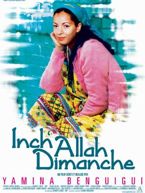 Inch'Allah dimanche - French Movie Poster (thumbnail)