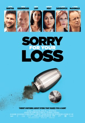 Sorry for Your Loss - Canadian Movie Poster (thumbnail)