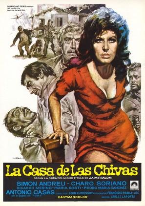 La casa de las Chivas - Spanish Movie Poster (thumbnail)