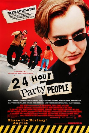 24 Hour Party People - Movie Poster (thumbnail)
