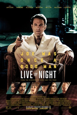 Live by Night - Movie Poster (thumbnail)