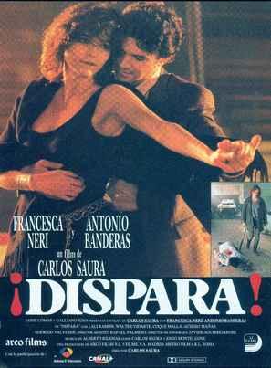 ¡Dispara! - Spanish Theatrical poster (thumbnail)