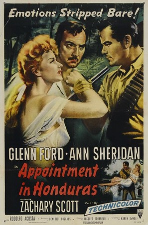 Appointment in Honduras - Movie Poster (thumbnail)