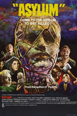 Asylum - British Movie Poster (thumbnail)