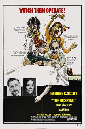 The Hospital - Movie Poster (thumbnail)