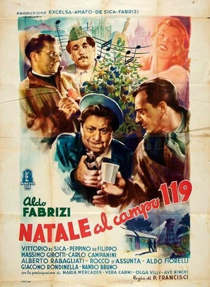 Natale al campo 119 - Italian Movie Poster (thumbnail)