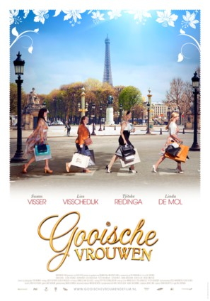 Gooische vrouwen - Dutch Movie Poster (thumbnail)