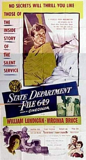 State Department: File 649 - Movie Poster (thumbnail)