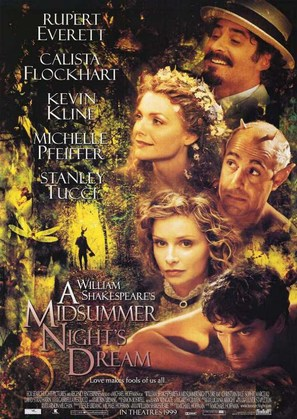 A Midsummer Night's Dream - Movie Poster (thumbnail)