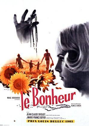 Le bonheur - French Movie Poster (thumbnail)
