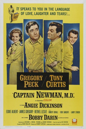 Captain Newman, M.D. - Movie Poster (thumbnail)