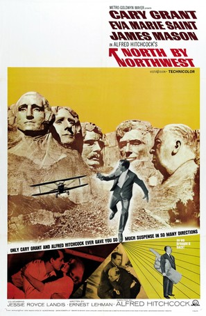 North by Northwest - Re-release movie poster (thumbnail)