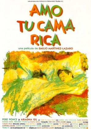 Amo tu cama rica - Spanish poster (thumbnail)