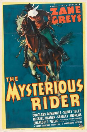 The Mysterious Rider - Movie Poster (thumbnail)
