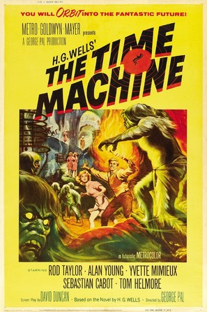 The Time Machine - Movie Poster (thumbnail)