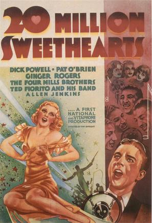 Twenty Million Sweethearts - Movie Poster (thumbnail)