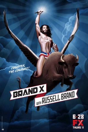 """Brand X with Russell Brand"" - Movie Poster (thumbnail)"