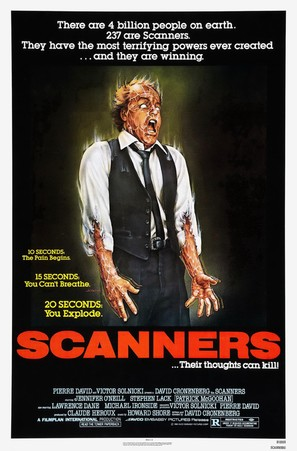 Scanners - Movie Poster (thumbnail)