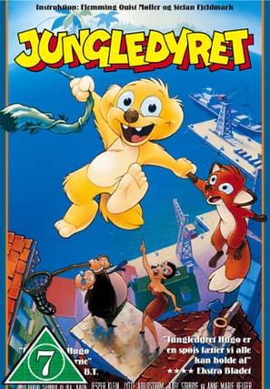 Jungledyret - Danish VHS cover (thumbnail)