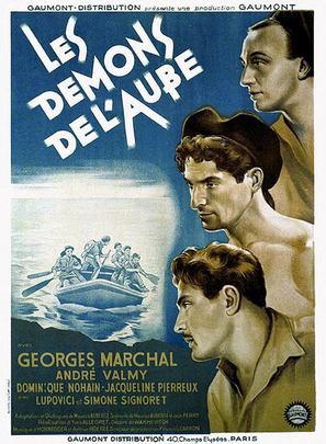 Les démons de l'aube - French Movie Poster (thumbnail)