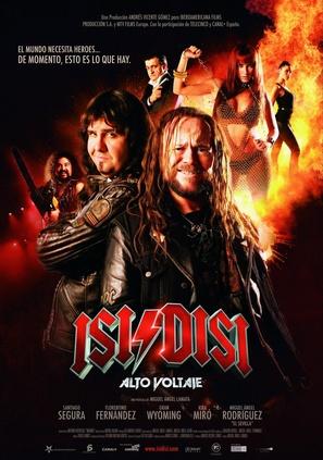 Isi & Disi, alto voltaje - Spanish Movie Poster (thumbnail)
