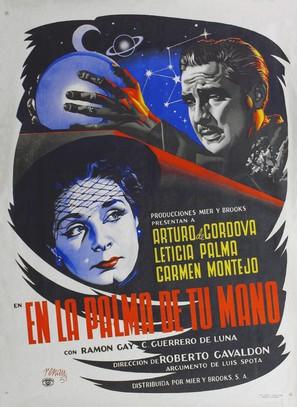 En la palma de tu mano - Mexican Movie Poster (thumbnail)